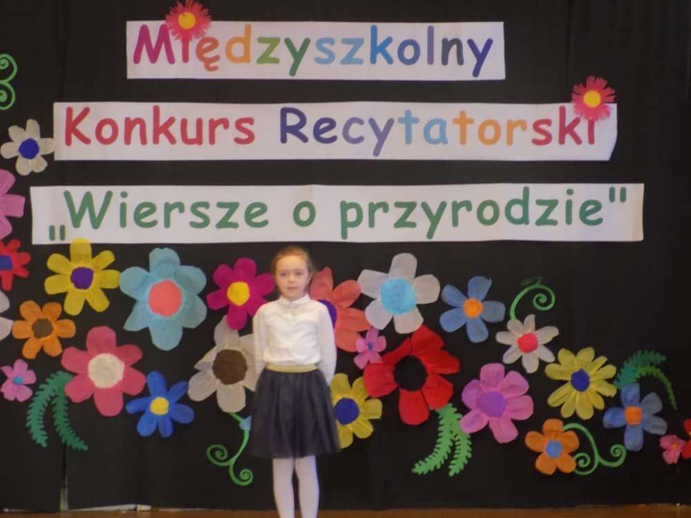 Wiersze O Przyrodzie Międzyszkolny Konkurs Recytatorski